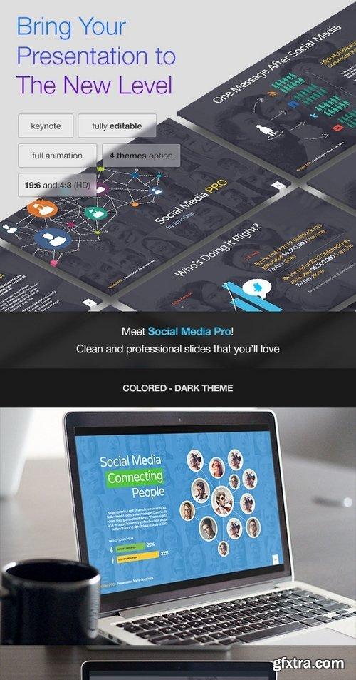 GraphicRiver - Social Media PRO - Keynote Template 7822256