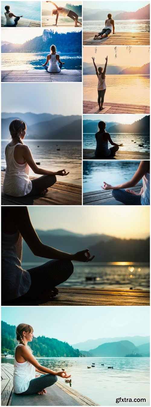 Meditating by the lake 10X JPEG