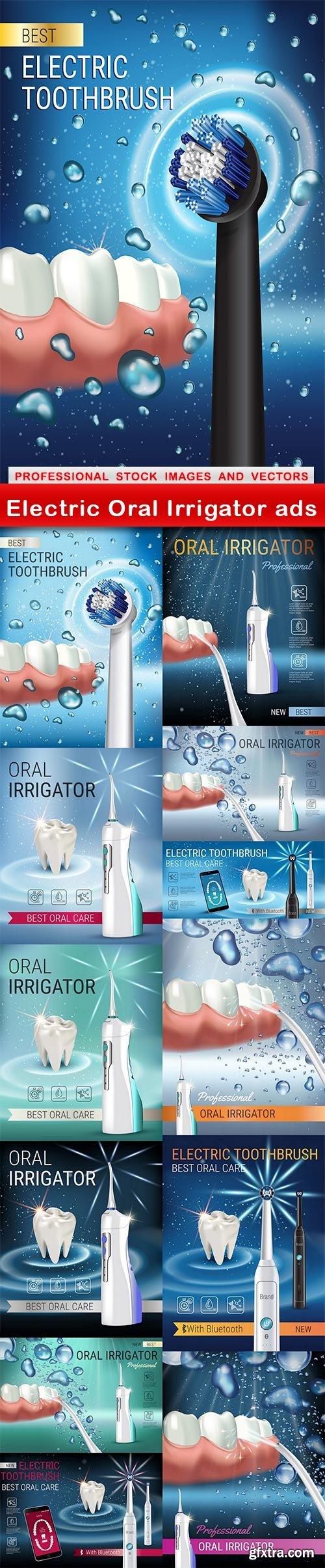 Electric Oral Irrigator ads - 13 UHQ JPEG