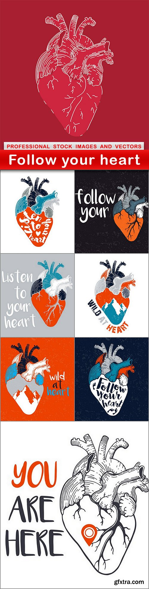 Follow your heart - 8 EPS