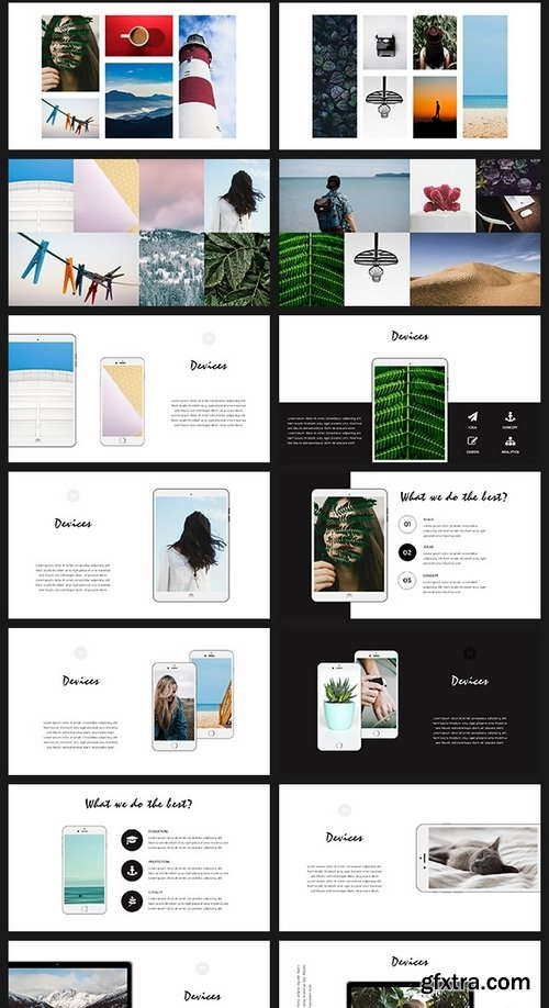 GraphicRiver - Leaves Minimal Keynote Template 19631779