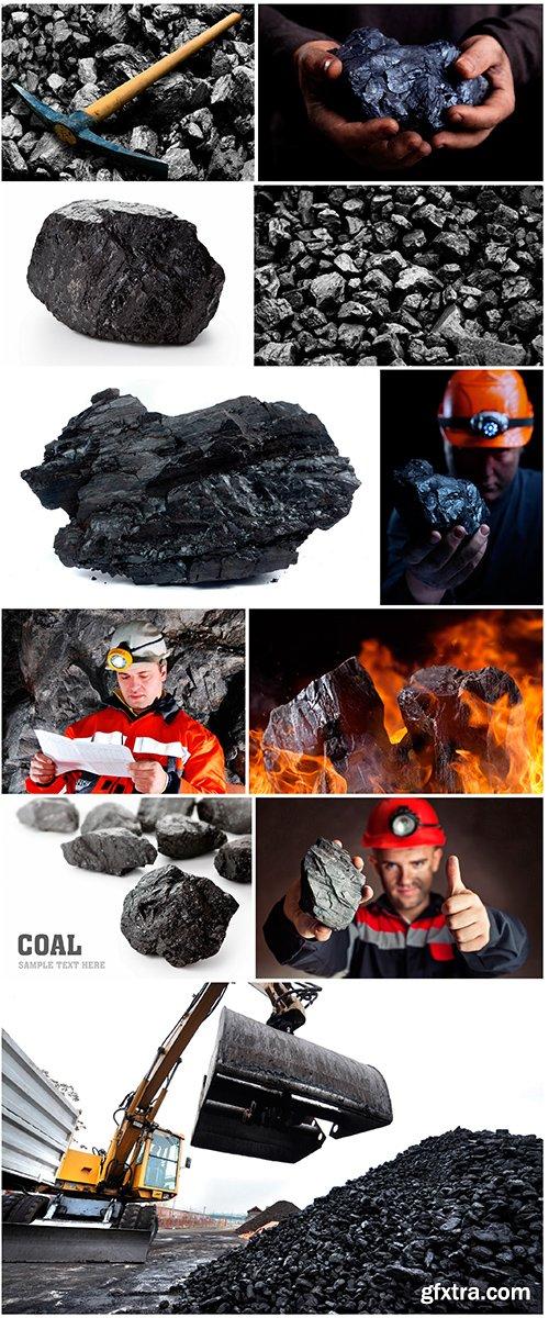 Raw material-coal - 11UHQ JPEG