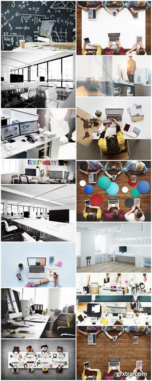 Photo contemporary workplace interior #2 15X JPEG