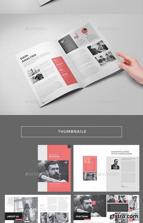 GraphicRiver - The Corporate Brochure 19305843