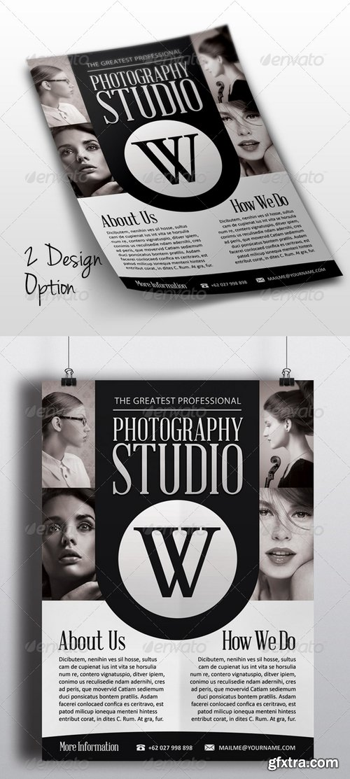 GraphicRiver - Photography Flyer 7400308