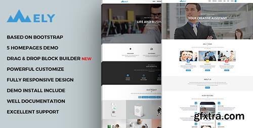 ThemeForest - Mely - Responsive Business Drupal Theme (Update: 20 March 17) - 13576410