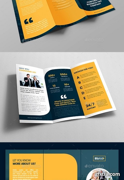 GraphicRiver - Pro Business Tri-Fold Brochure V04 19463917