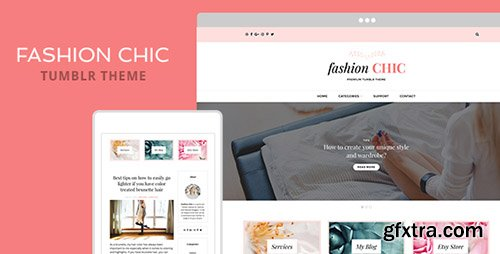 ThemeForest - Fashion Chic v1.0 - Tumblr Theme - 19613166