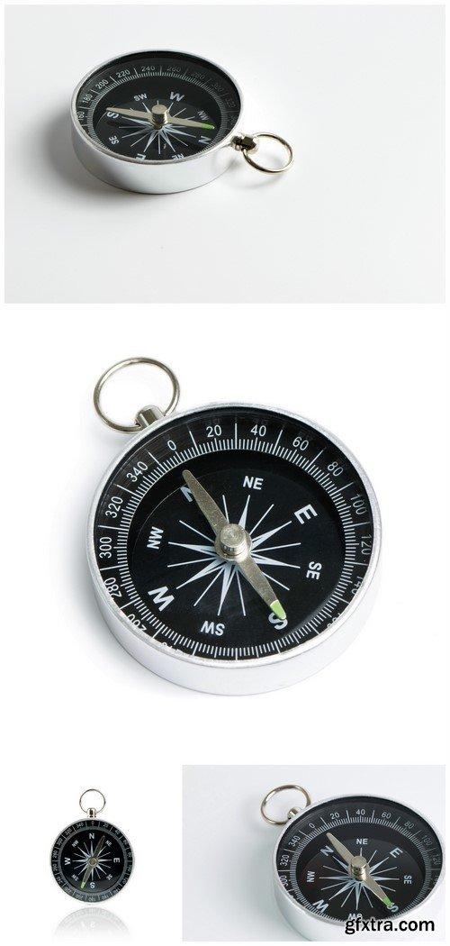 Compass on white background 4X JPEG