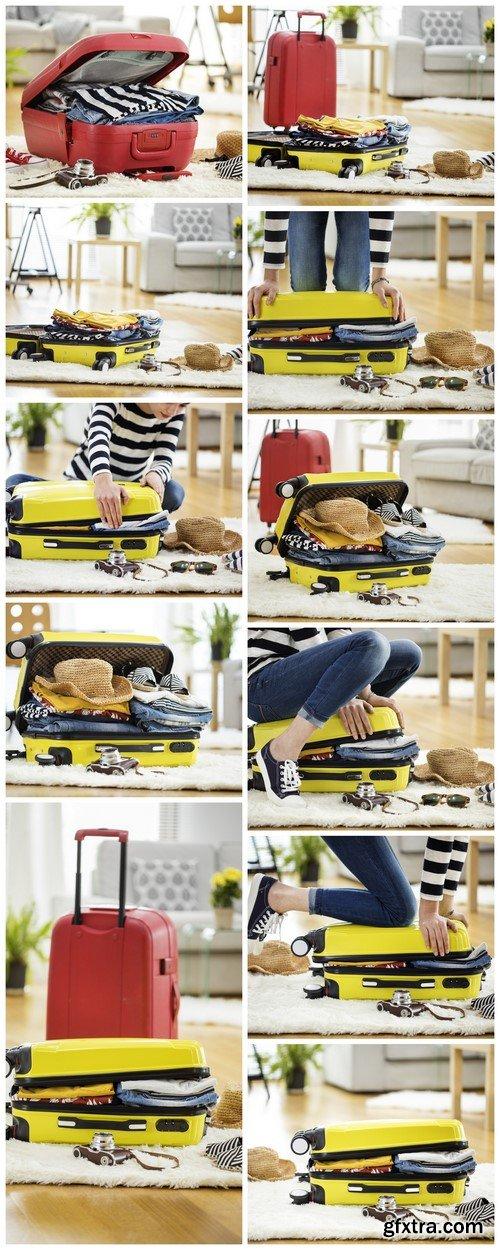 Travel, preparation suitcase11X JPEG