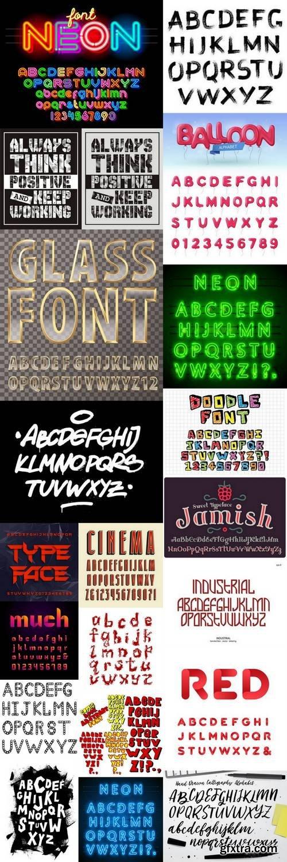 Alphabet Vector Font 11