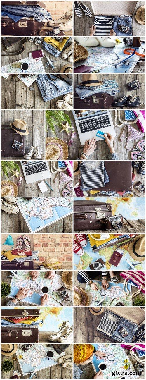 Travel, preparation suitcase #2 20X JPEG
