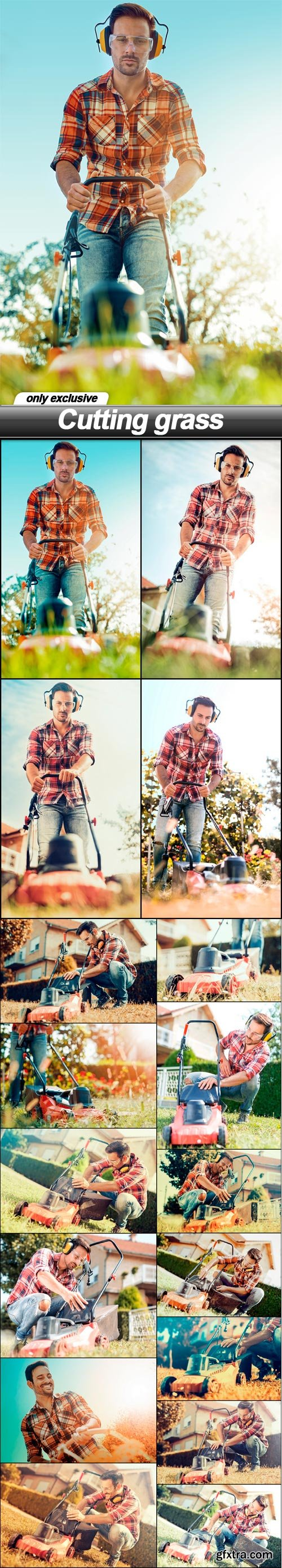 Cutting grass - 17 UHQ JPEG