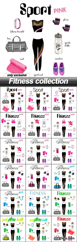 Fitness collection - 18 UHQ JPEG