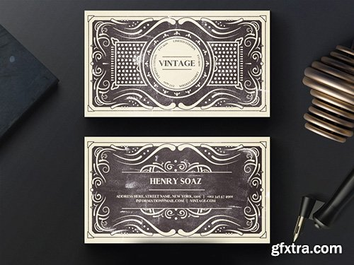 Eps vector elite vintage business card vector photoshop psdafter eps vector elite vintage business card reheart Image collections