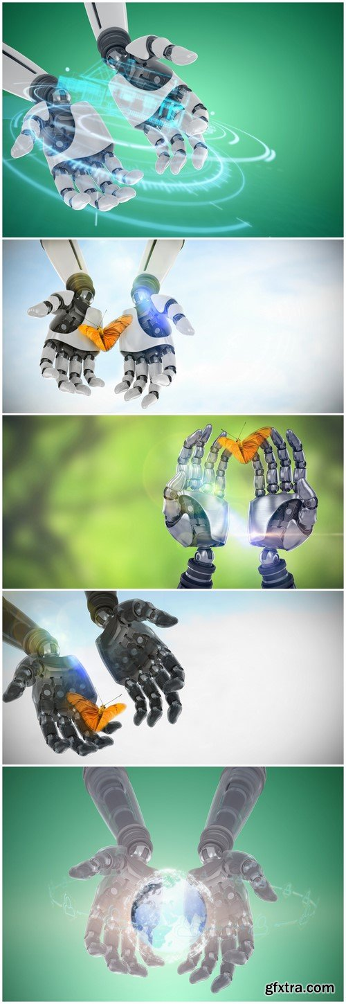 Robot hands 5X JPEG