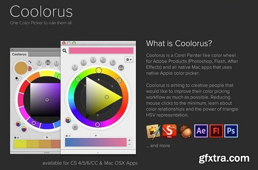 Coolorus v2.5.14 for Adobe Photoshop CC 2014 - CC 2019