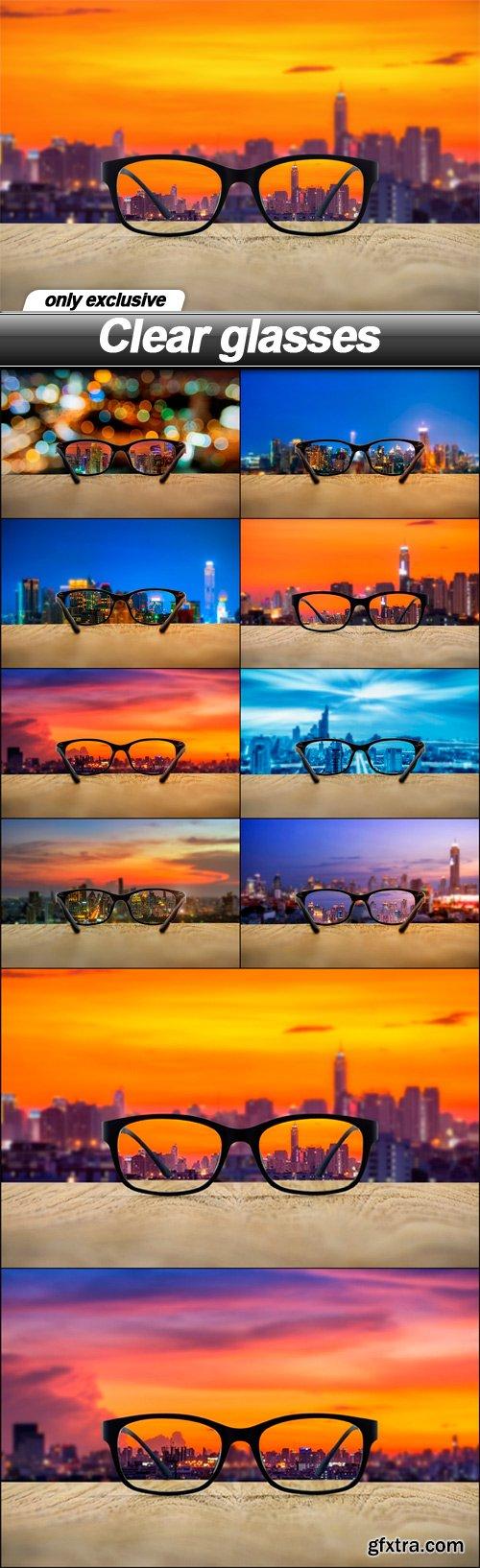 Clear glasses - 10 UHQ JPEG