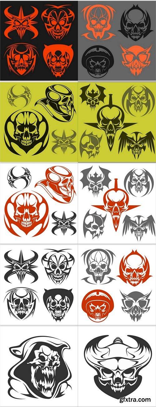 Skulls, zombies