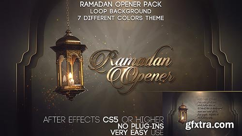 Videohive - Ramadan Opener Pack - 19699875