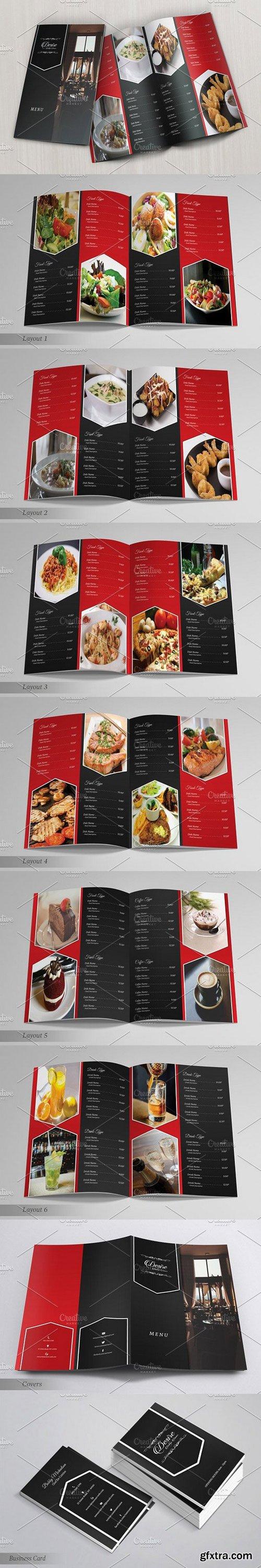 CM - Elegant Restaurant Menu 1353165