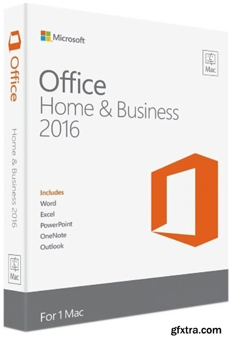 Microsoft Office 2016 for Mac v16.16.15 VL Multilingual