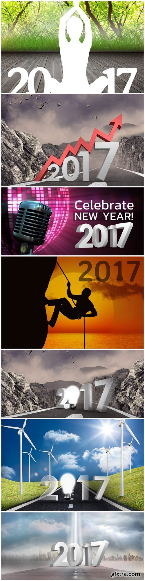 Illustrations of 2017 7X JPEG