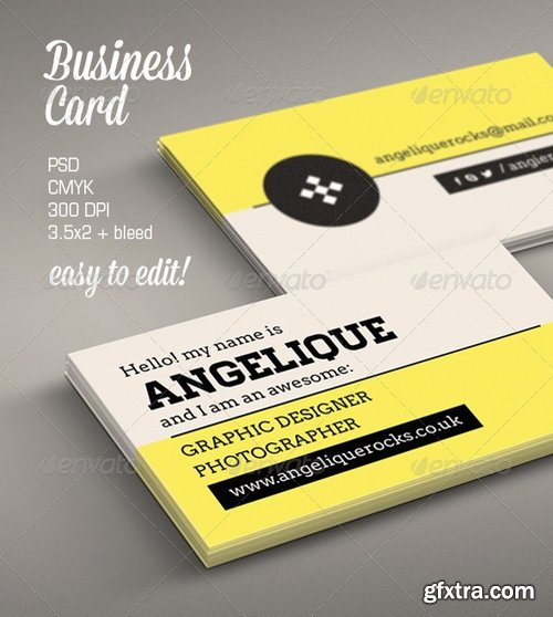 GraphicRiver - Modern Business Card 6307857