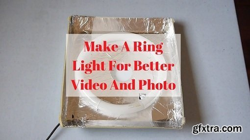 Build A DIY Ring Light For Better Videos