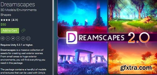 Unity Asset – Dreamscapes 2.0