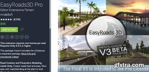 EasyRoads3D Pro v2.5.9.3 (v3 beta 8.4) for Unity Game Engine