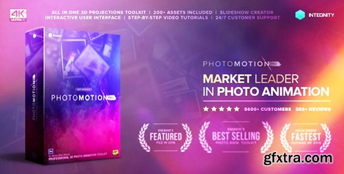 Videohive Photo Motion Pro - Professional 3D Photo Animator 13922688 (with 3 February 17 Update)