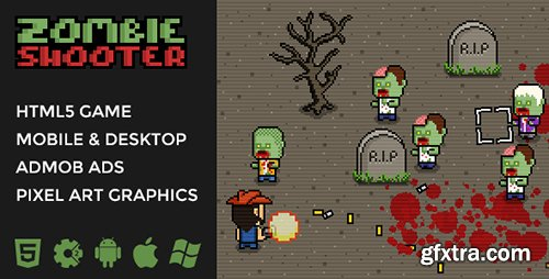CodeCanyon - Zombie Shooter v1.0 - 2D Isometric Action - 19725150