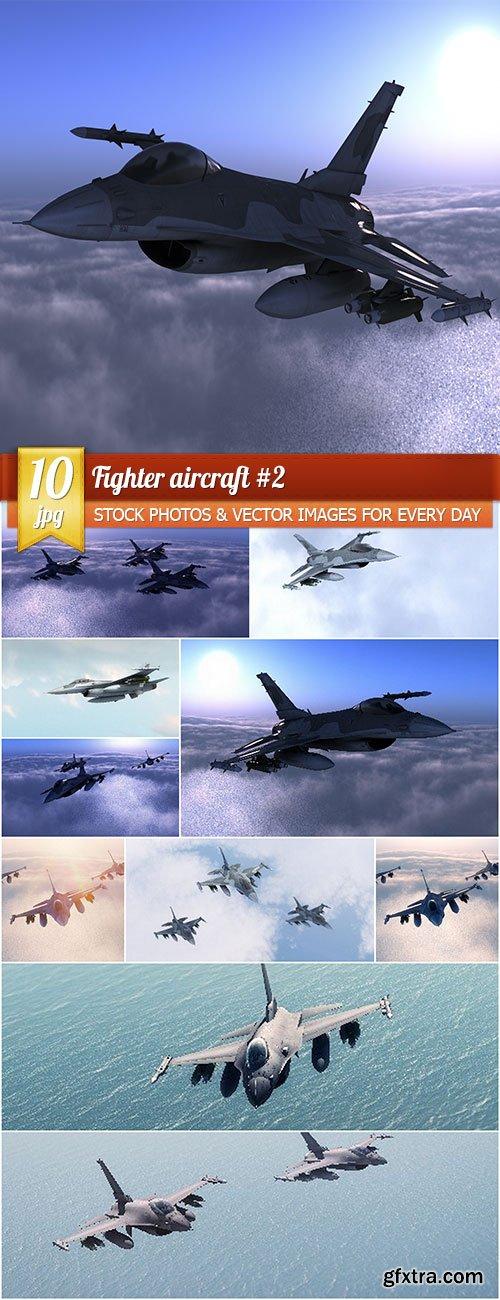 Fighter aircraft #2, 10 x UHQ JPEG