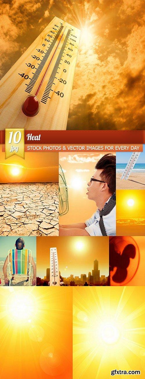 Heat, 10 x UHQ JPEG