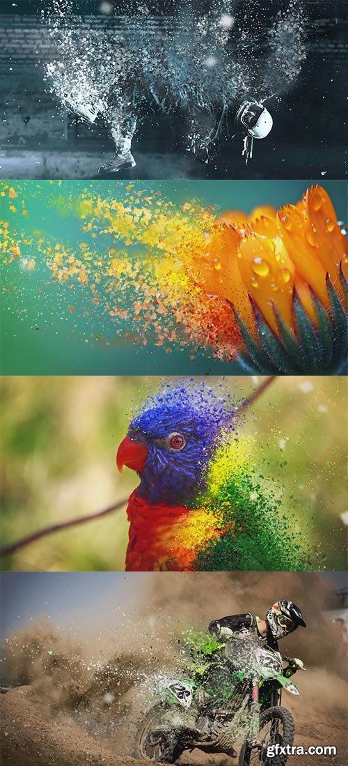 Videohive - Motion Particles - Photo Toolkit - 19664871