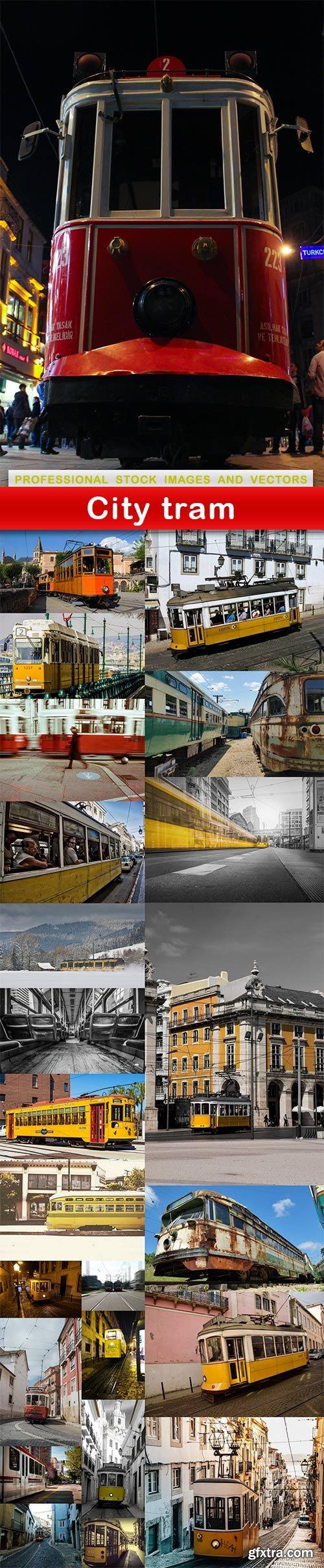 City tram - 24 UHQ JPEG