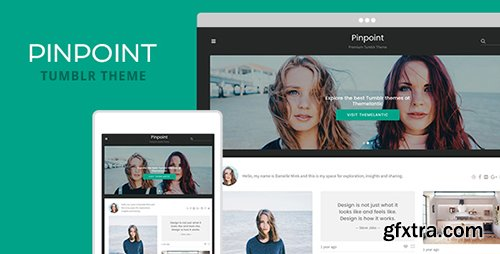 ThemeForest - Pinpoint v1.0 - Tumblr Theme - 19783064