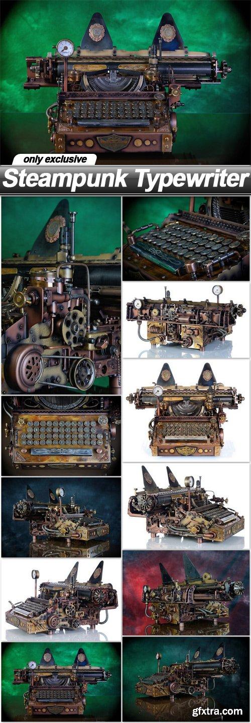 Steampunk Typewriter - 11 UHQ JPEG