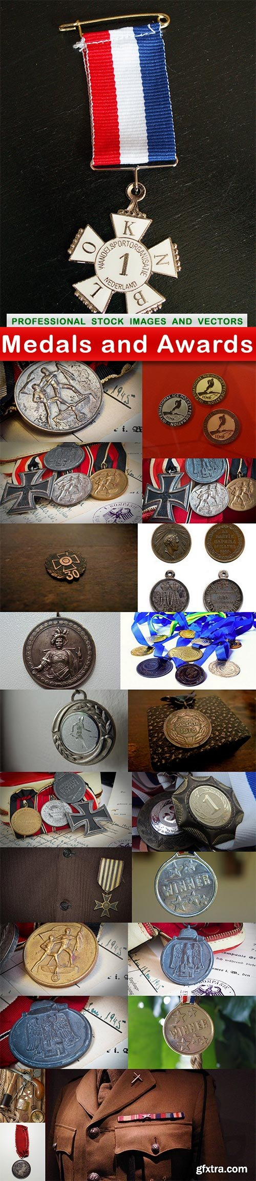 Medals and Awards - 22 UHQ JPEG