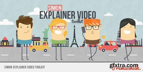 Videohive Simon Explainer Video Toolkit 8954003