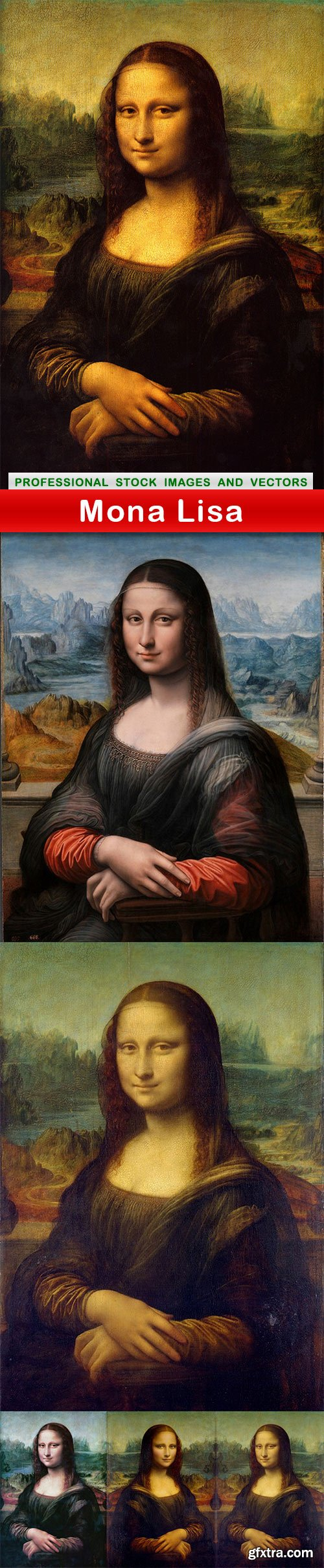 Mona Lisa - 5 UHQ JPEG