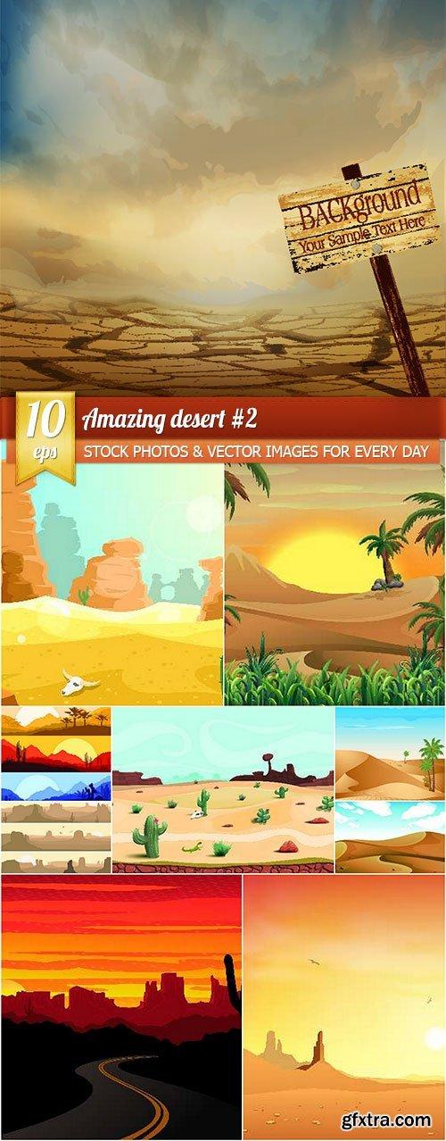 Amazing desert #2, 10 x EPS