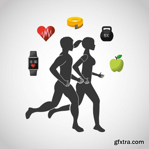 Sport lifestyle - 7 EPS