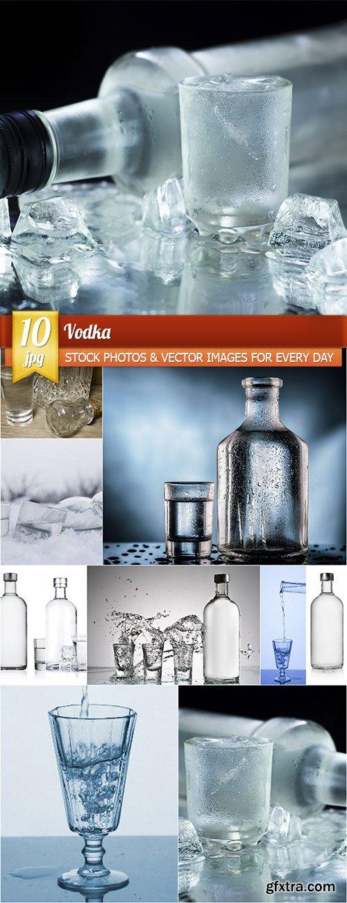 Vodka, 10 x UHQ JPEG