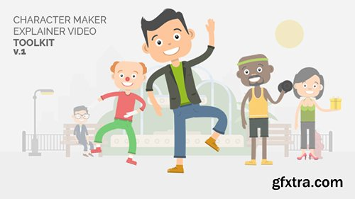 Videohive Character Maker - Explainer Video Toolkit 18731193 (With 17 February 17 Update)