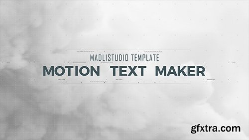 Videohive Motion Text Maker 18119422 (With 6 April 17 Update)