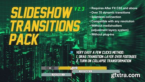 Videohive Slideshow Transitions Pack 17811440 (With 21 February 17 Update)