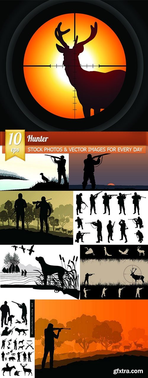 Hunter, 10 x EPS