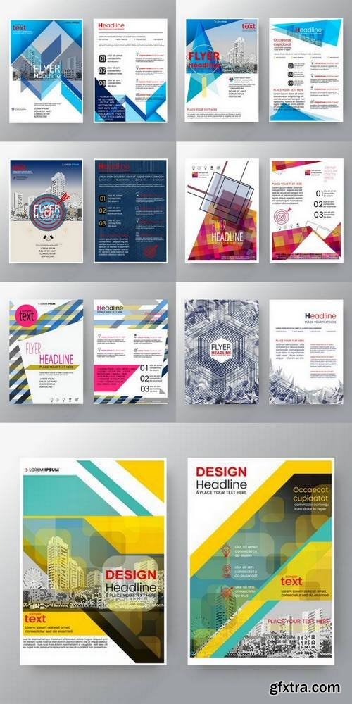 Abstract Background for Poster Brochure Flyer Design Layout Vector Template in A4 Size
